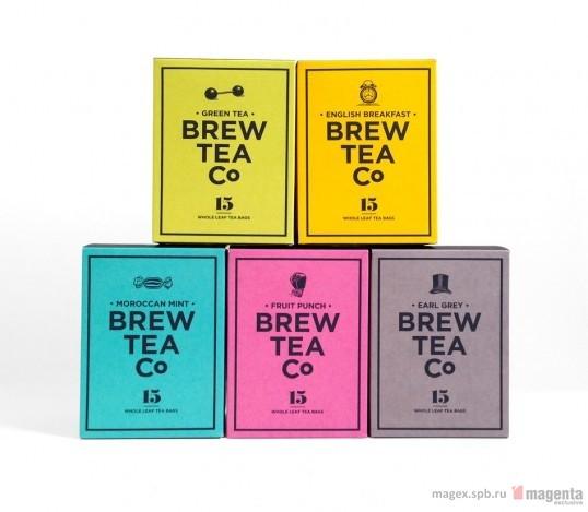 Идеальная упаковка для идеального чая Brew Tea Co