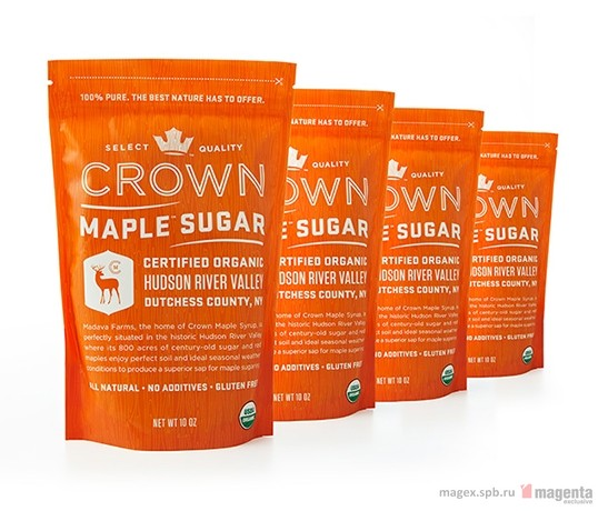 Упаковка Crown Maple Sugar