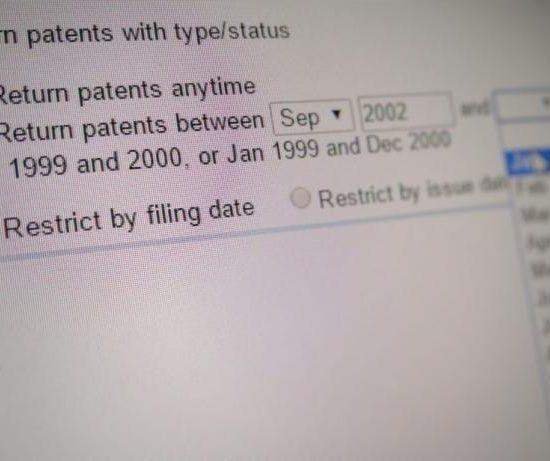 В базе данных Поиска по патентам Google появилась Россия