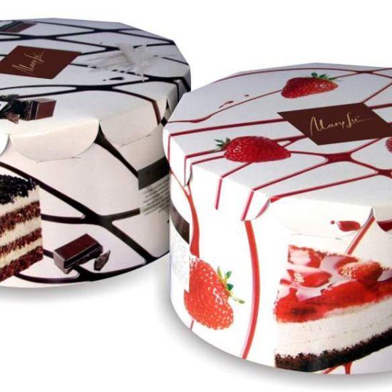 Упаковка для пирожных и тортов
