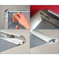 Алюминиевые рамки с клик системой