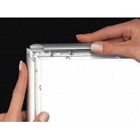 Варианты применения алюминиевых рамок