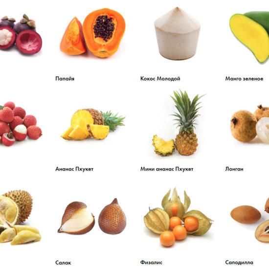 Бизнес по доставке экзотических фруктов из Таиланда