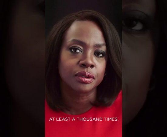 Виола Дэвис напомнила о самоуважении в новом ролике L'Oréal