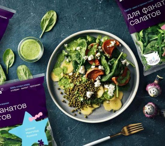 Белая Дача представила новую экосистему упаковки салатов и достигла роста продаж в 30%